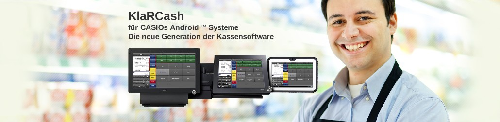CASIO KlaRCash Kassensoftware